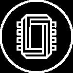 Chipster logo vit